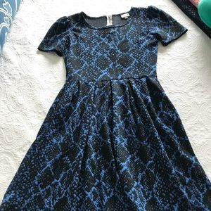 LulaRoe Amelia dress M